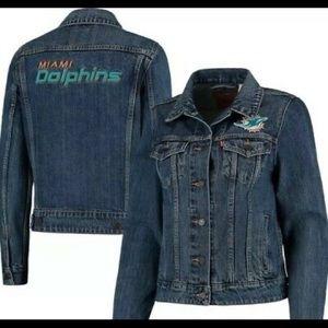 Miami dolphin jacket